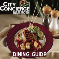 Mammoth restaurant guide
