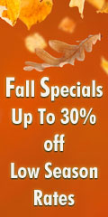 Fall Specials on Vacation Rentals and Hotels in Mammoth, Big Bear and Lake Tahoe