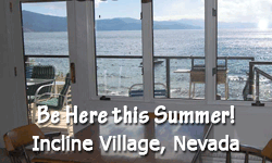 lakefront rentals for summer in Incline Village