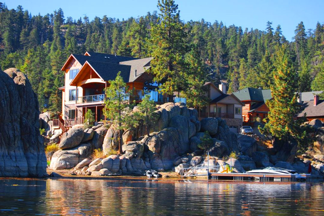 Amazing Boulder Cove Big Bear Rental Lakefront