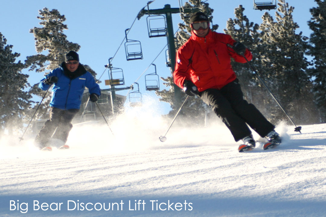 Big Bear Discount Lift Tickets