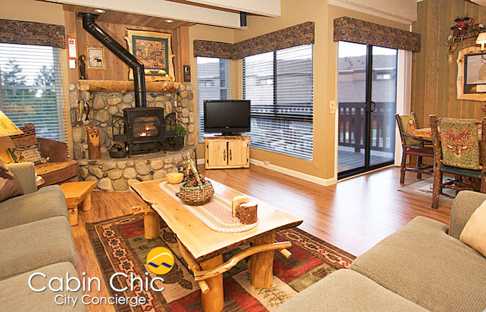 Chic Mammoth cabin rentals near the Village