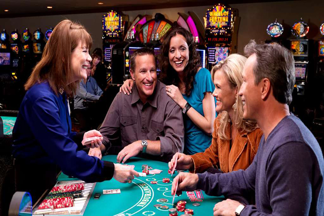 Playing Blackjack at a Casino in Nevada