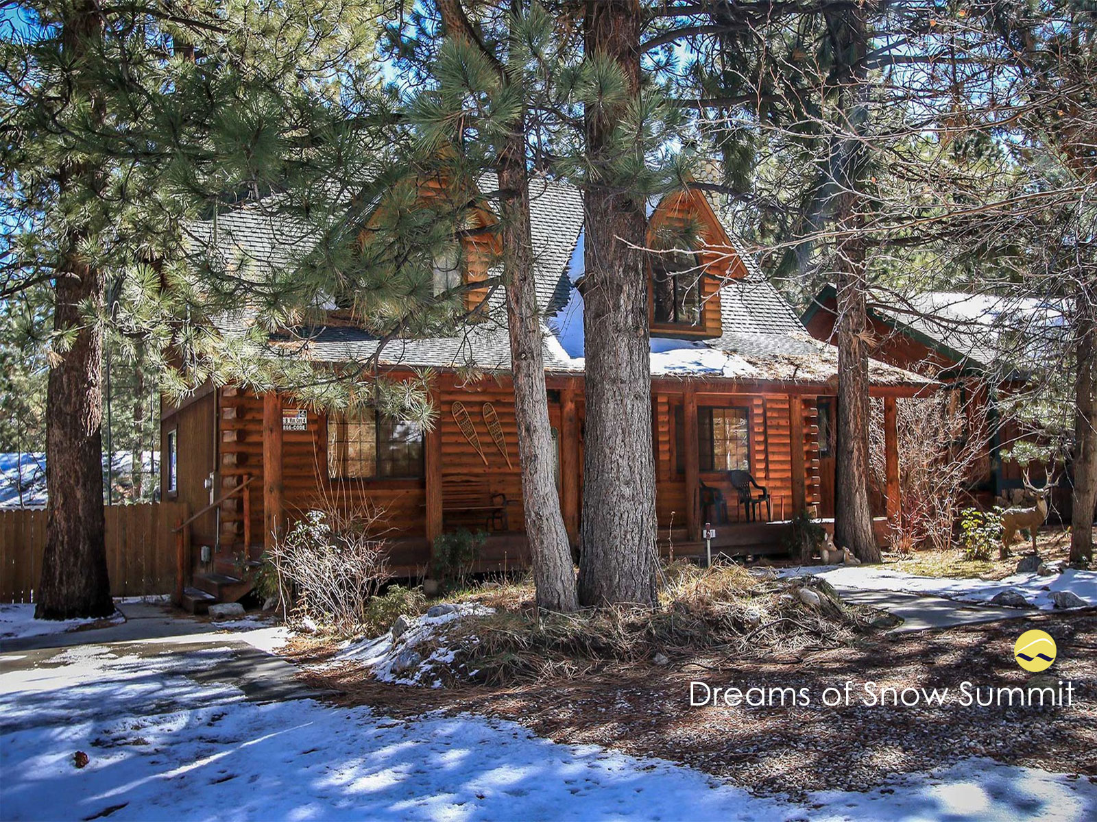 Dreams of Summit Big Bear Cabin Rental