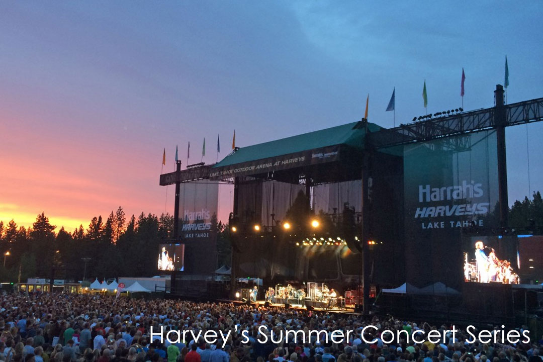 Harveys South Lake Tahoe Concert Series