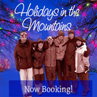 Big Bear Rentals for the holidays