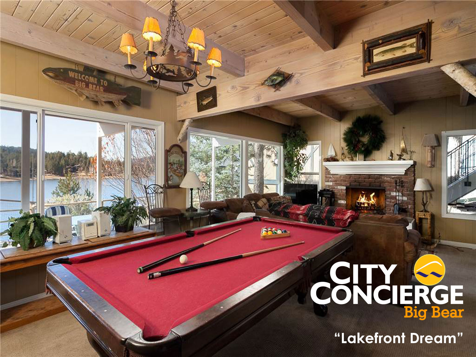 luxury rental homes in Big Bear
