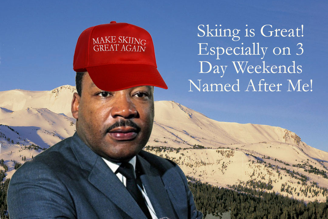 Mammoth Mountain Martin Luther King Specials