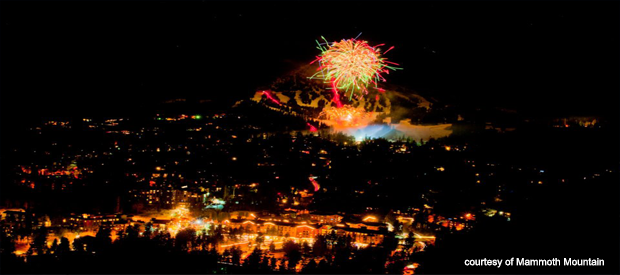 Night of Lights Mammoth Mountain
