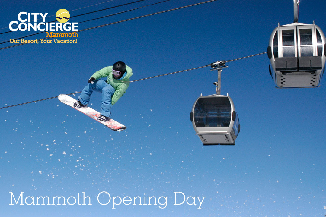 Mammoth Mountain Opening Day
