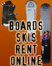 Online Ordering for Mammoth Ski and Snowboard Rentals
