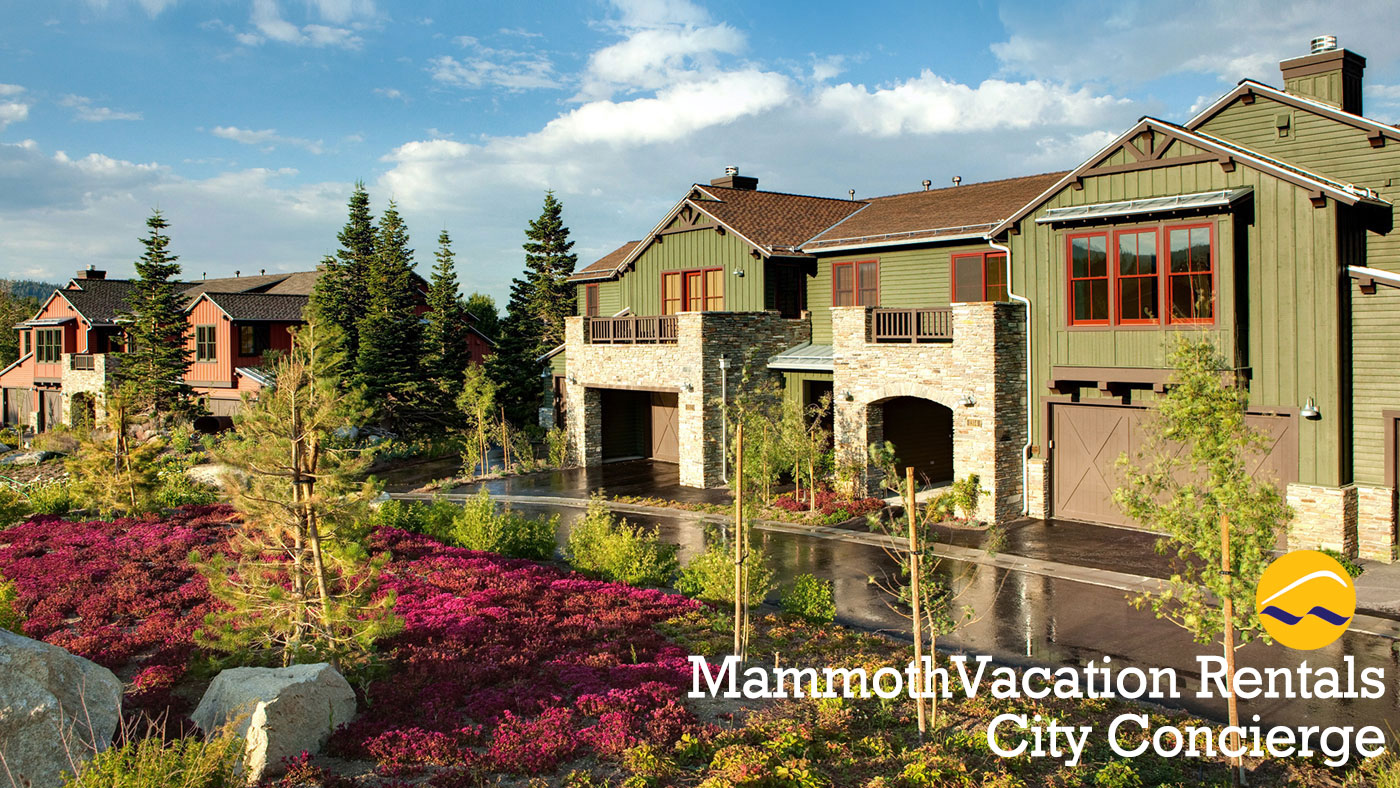 Mammoth vacation rentals at Creekhouse by Snowcreek