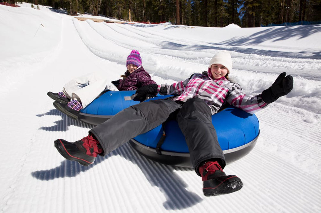 Sledding and Tubing in Mammoth