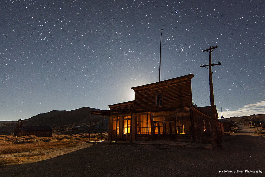 Bodie Ghost Town, Mono County