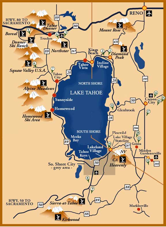 Maps of Lake Tahoe: Area maps, Trail Maps, Drive Around The Lake Ski Resorts In Lake Tahoe Map on lake tahoe mapguide, lake tahoe points of interest map, lake tahoe mountain map, lake tahoe skiing, ski bc map, california ski areas map, lake tahoe national forest map, squaw valley resort map, lake tahoe snow, lake tahoe winter map, northstar resort tahoe map, lake tahoe tourist map, hyatt regency lake tahoe resort map, lake tahoe casinos, lake tahoe sierra resort, lake tahoe golf course map, lake tahoe airport map, lake tahoe granlibakken resort, lake tahoe tee shirt, christmas valley lake tahoe map,