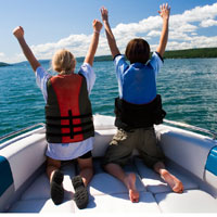 boat rentals in Big Bear