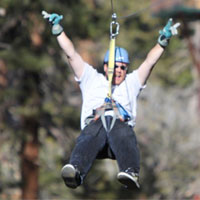 Zipline in Big Bear