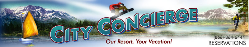 City Concierge Reservations: Our Resort, Your Vacation!